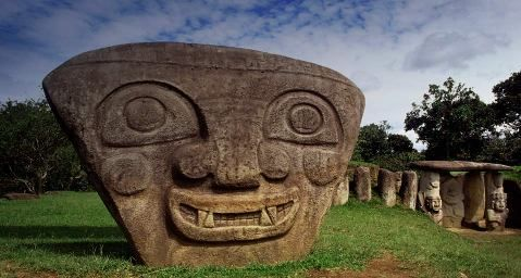 MesoAmerican Histories, including Carribean peoples San Augustin statues.