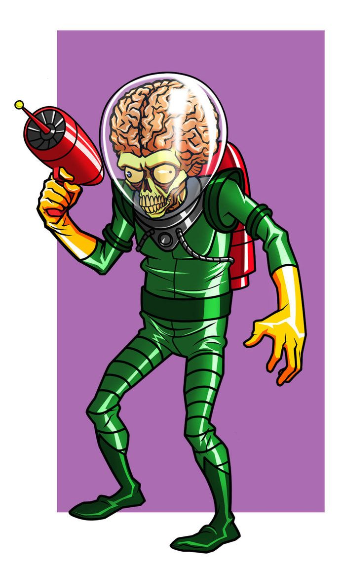 Mars Attacks by CHUBETO