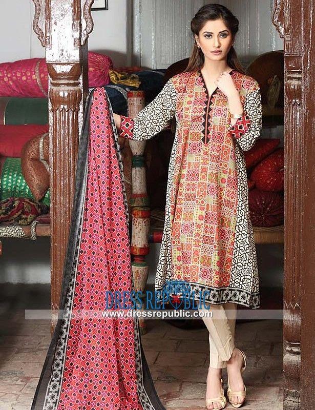 Buy Salwar Kameez Online - Nisha By Nishat Lawn Dresses 2015