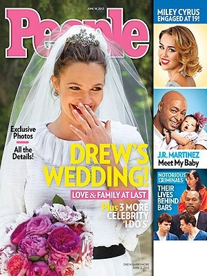 "Liv and Lily featured on the cover of People Magazine with J.R. Martinez and his beautiful daughter who is wearing our ""Eloise"" headband  http://www.livandlily.com/ecom/index.php?route=product/product=60_id=67"