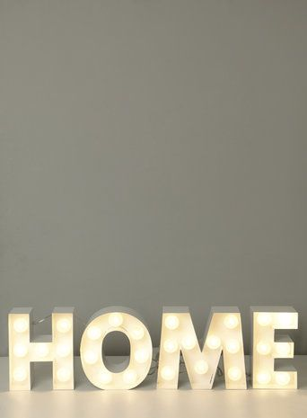 Holly Willoughby Marquee Letters Garden Studio Lamp Table Flaws Home Lighting Rustic Decor Bhs Industrial
