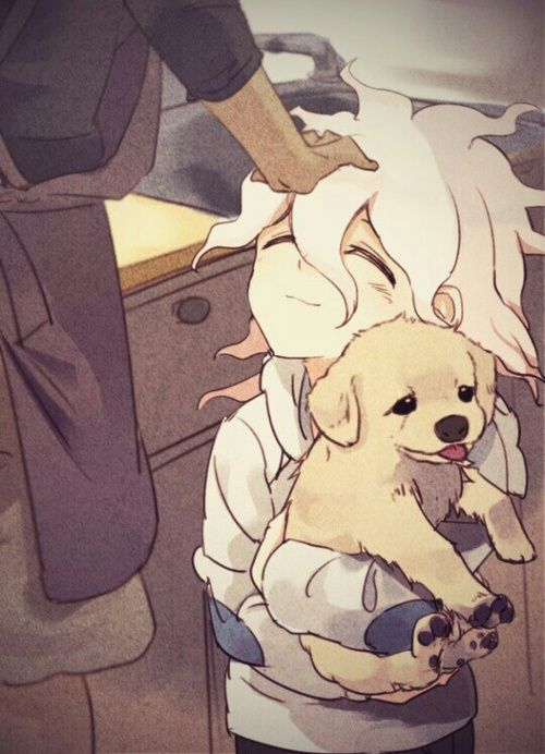 SCREAMSSSSSSSSSSSSSSSSSSSSSSSSSSSSSSSS AAH HE IS SO ADORABLE MY LITTLE CINNAMON ROLL ;-; WHY I KNOW THAT DOG IS GONNA DIE TOO ;;;-;;;