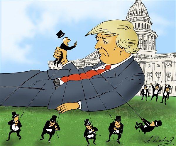 6/21/17 Alexandr Zudin - St. Petersburg, Russia - Trump and Congress - English - Trump, Congress USA