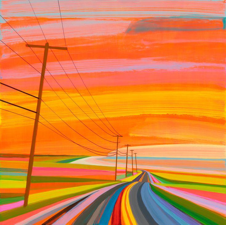 Aquello empezó a ocurrir al volver del trabajo. El artista estadounidense Grant Haffner conducía en su coche y el horizonte desaparecía. Los árboles se escondían y los bordes de la carretera parecían hundirse en la tierra. De ahí emergieron sus pinturas. De todos esos momentos en los que el sol se diluye y entonces todo, […]