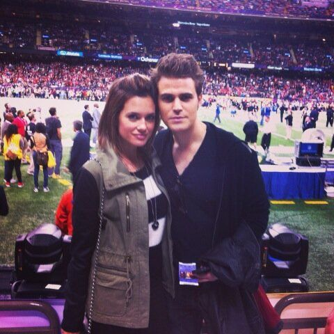 Twitter / paulwesley: Game time with @torreyjdevitto