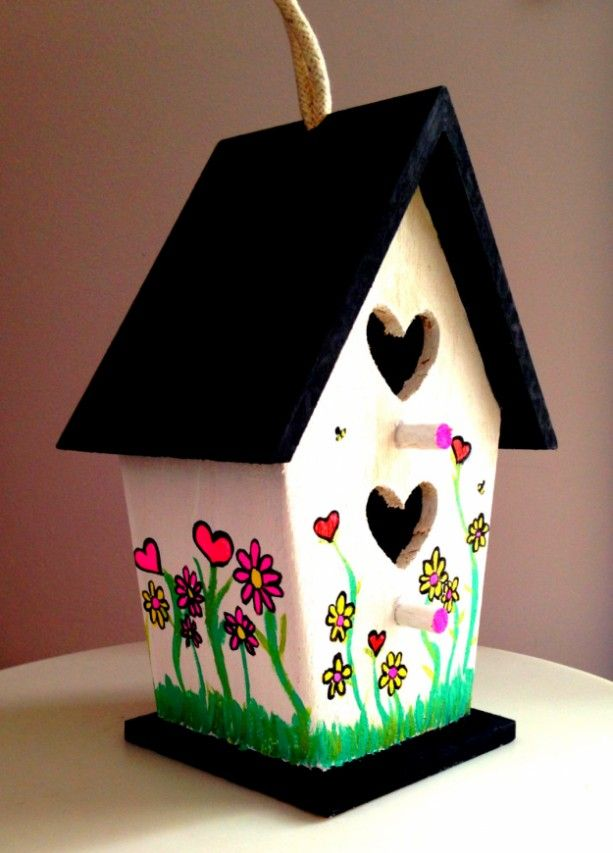 Decorative Outdoor Bird House