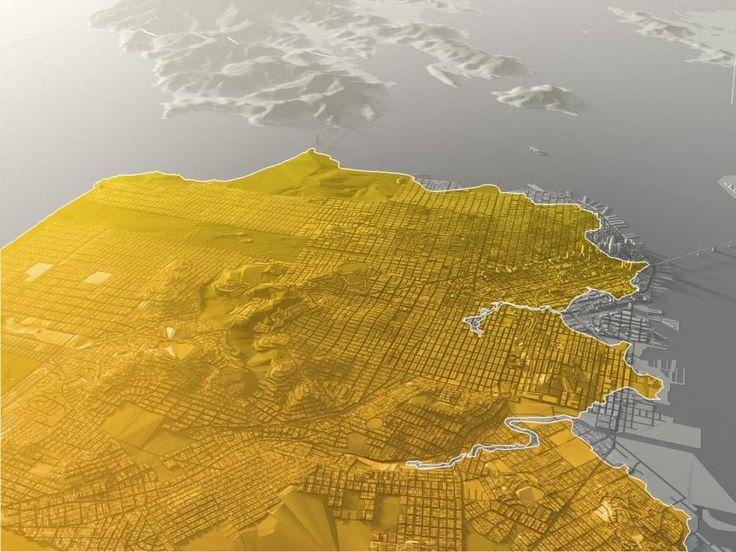 Urban plan San Francisco Oakland California CDR