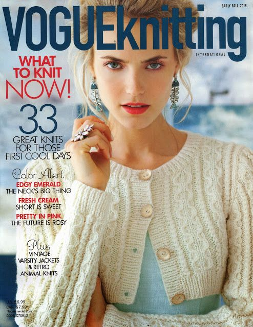 Vogue Knitting Early Fall 2013 - Monika Romanoff - Picasa Albums Web