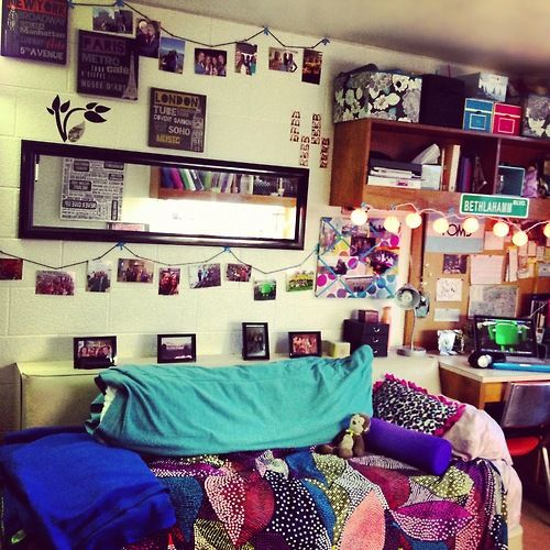 Valparaiso University - Lank  This motivates me to have a cute dorm room next year.