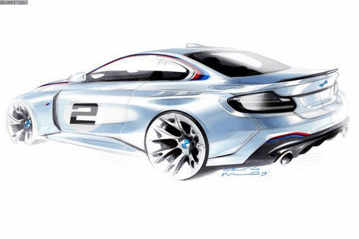 BMW-M235i-Racing-Design-Skizze-Rennwagen-Motorsport-Teaser-2