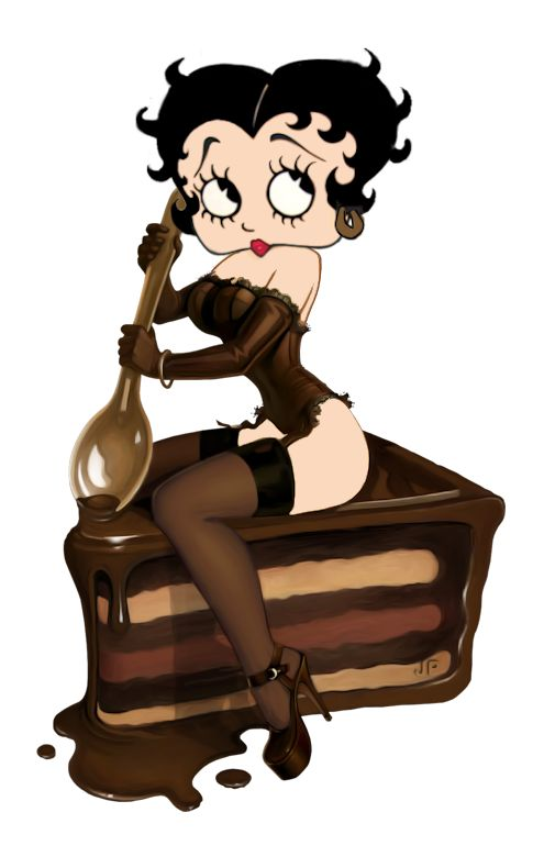 Betty Boop Chocolate cake