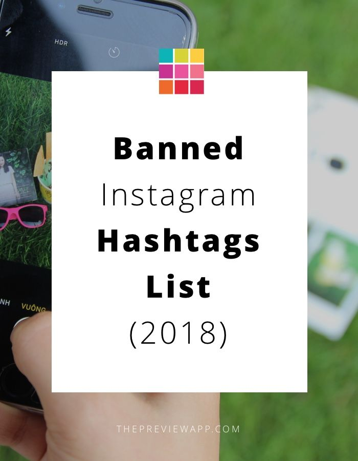 Here is the list of banned Instagram Hashtags 2018. See how to find blocked hashtags + tips to avoid being blocked by Instagram. #instagramtips #instagram #instagrammarketing #instagramforbusiness #socialmedia #socialmediamarketing #socialmediatips #girlboss #businessowner #hashtag #instagramhashtag #previewapp