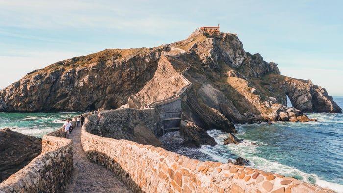 10 Lugares De Ensueño Que Ver En El País Vasco Imanes De Viaje Gaztelugatxe País Vasco Paisajes