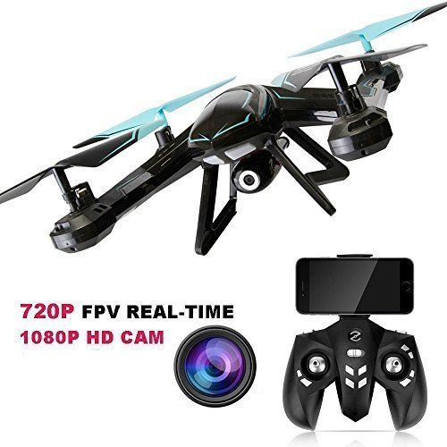 Camera Drone RC Quadcopter FPV Wifi 2Mp HD Camera FPV Real Time Headless Mode   #KP