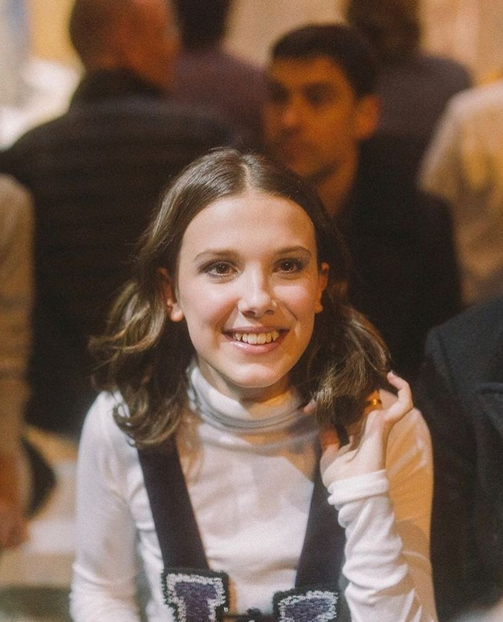 Millie Bobby Brown is the cutest, most generous and just the nicest person on earth and funny too.