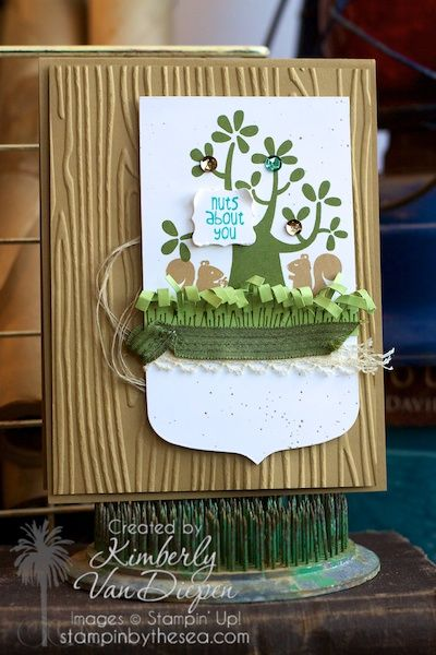 Nuts about You | Stampin' Up! :: StampinByTheSea.com New Hostess set.  Earn this stamp set FREE.  Ask me how.