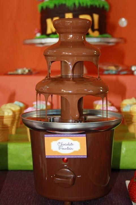 Chocolate Fountain #willywonkaparty