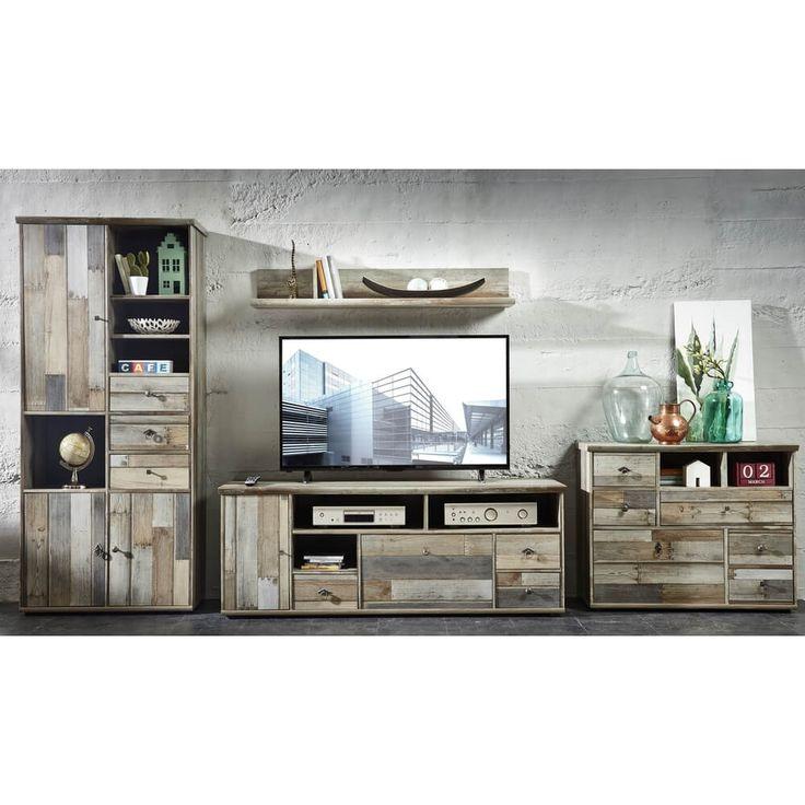 Schraenke Gnstig Kaufen Wohnw Online Wohnzimmer Wohnwaende Anbauw Bonanza Innostyle