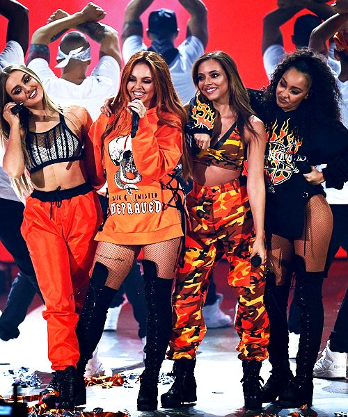 Little Mix perform at Nickelodeon's Kids' Choice Awards 2017