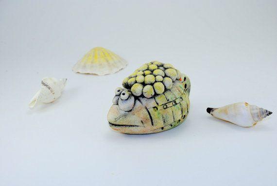 Nautical decor Ancient fish Sea Creature Ocean animals Unique Performance…