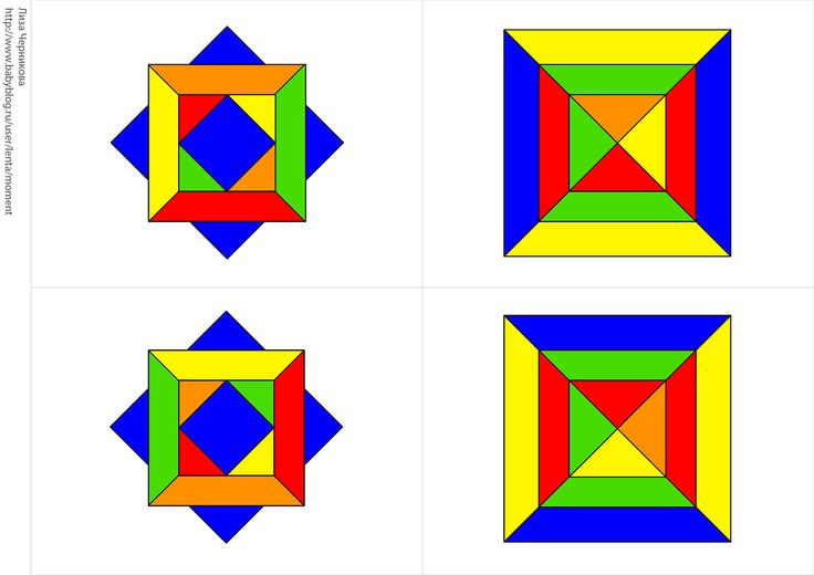 * Memory: kleur en vorm! 2-8