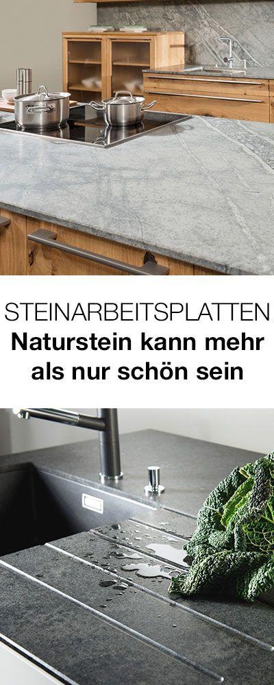 102 best Küchen images on Pinterest Kitchen ideas, Kitchen designs - naturstein arbeitsplatte küche