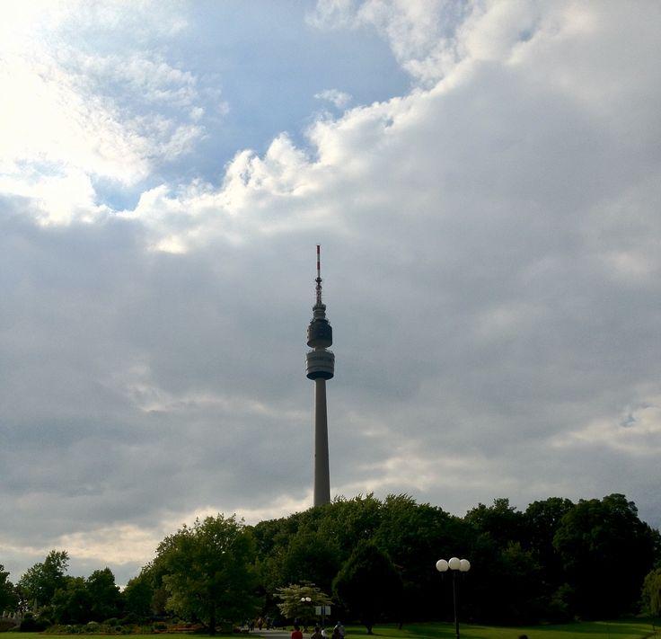 Florianturm im Westfalen Park Dortmund...