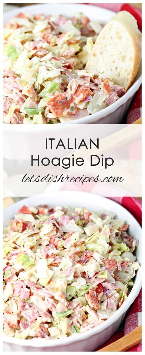 Italienisches Hoagie-Dip-Rezept: Ihre Lieblingszubereitungen aus italienischem