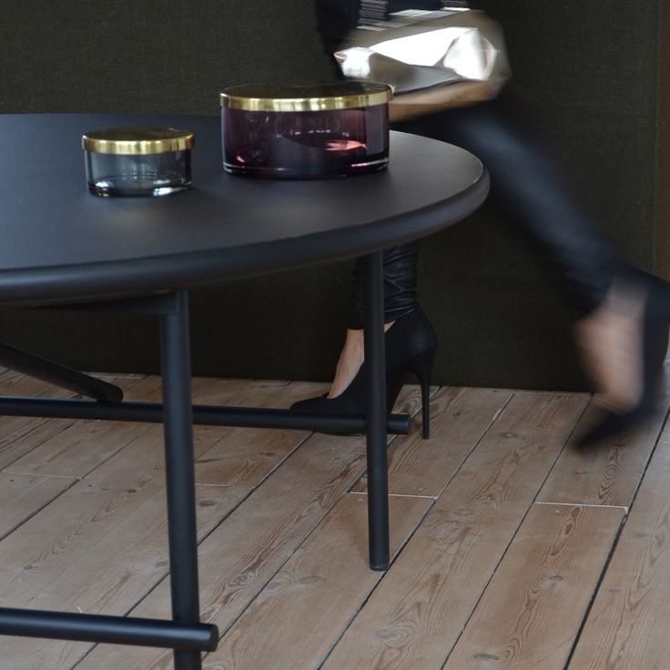 New Tab coffee table from YLE collection by Peter Boy Design #coffeetable #newdanishdesign #yle #fashion #gold #black