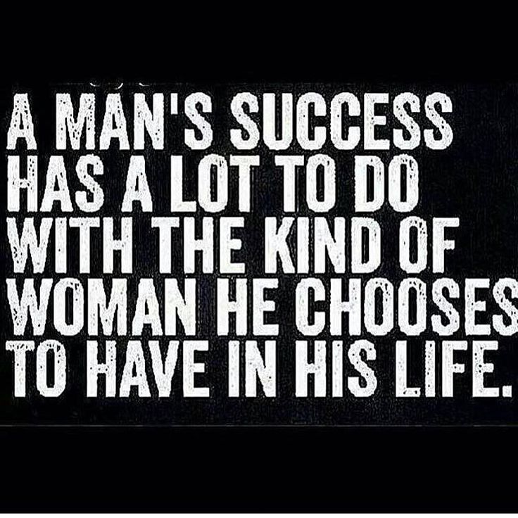 Definitely speaks for itself !! Sure does! Successful because of the woman he has in his life.. ME ❤