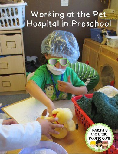 Really Working at the Pet Hospital in Preschool::Teaching The Little People