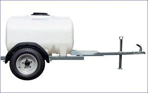 The quad bike bowser range has been designed for the safe transportation of water to isolated areas without access to a mains water supply. This ATV water bowser can be adapted to supply potable water (black tank only) with our selection of pumps. Capacity of this water bowser is 500 L. For more info contact us at: http://www.fresh-group.com/waterers-and-bowsers.html
