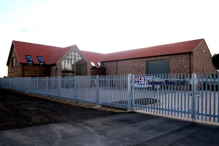 Office development for local builder Salmons Bros - Andrew Fleet MCIAT - Architectural Technologist