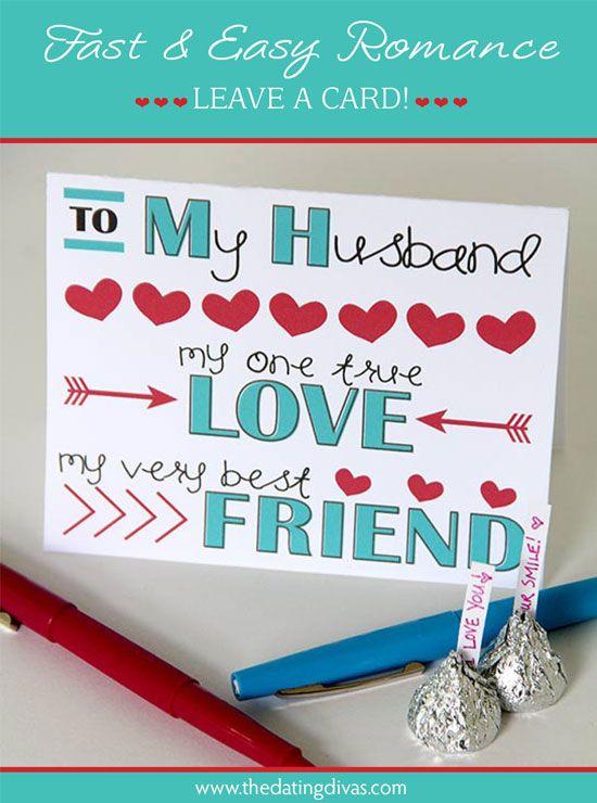 FREE printable love note card