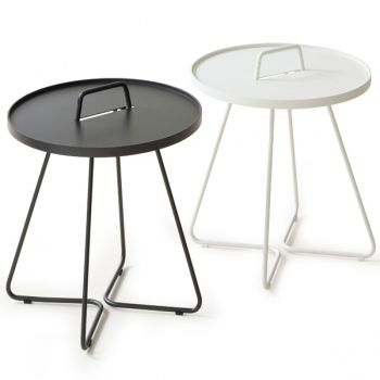 On the move tables by cane line garden outdoor pinterest large - Table basse alu brosse ...