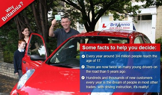 Britannia Driving School-Quality Intensive Driving Courses and Driving Crash Courses in a Manual or Automatic Car with a Driving Test – All in One Week.
