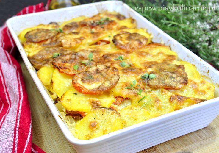 Pyszna zapiekanka ziemniaczana | Przepisy Kulinarne