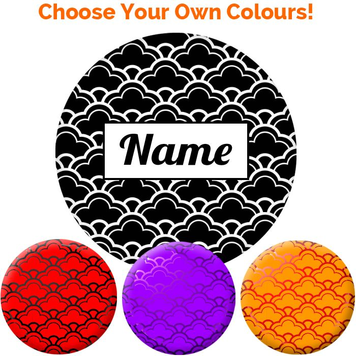 Name Badge - Create Your Own #022 - 75mm