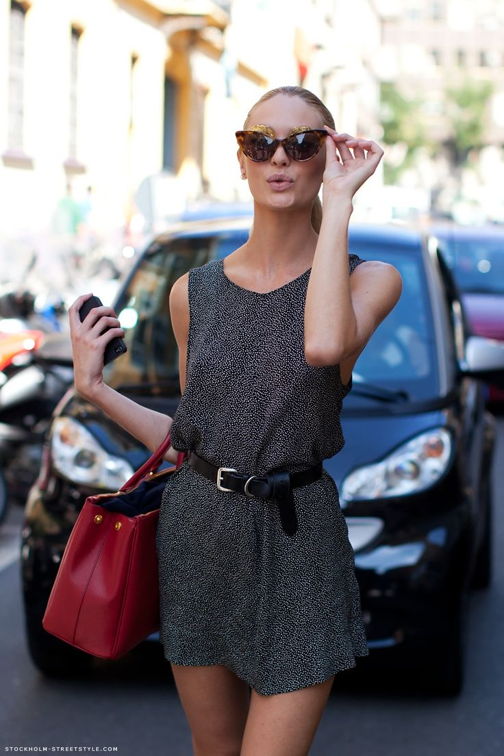 Candice SwanepoelFashion, Candice Swanepoel, Street Style, Oakley Sunglasses, The Dresses, Ray Bans Sunglasses, Cat Eye Sunglasses, Belts Dresses