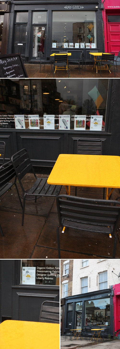 Like the idea of outdoor seating!!