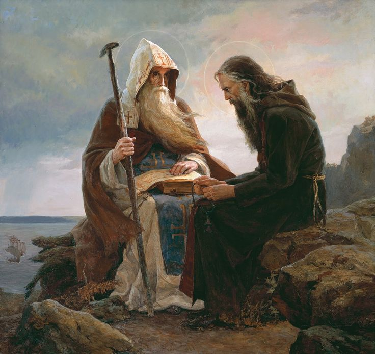 MYSTAGOGY: Sts. Anthony and Theodosius, Founders of the Kiev Caves Lavra