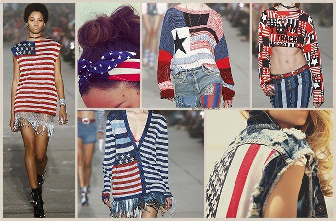 #Geometrie a #stelle e #strisce prese dalla bandiera americana nei colori forti del blu, rosso e bianco che mixati tra loro formano #grafismi divertenti per intarsi su #maglieria e stampe su #jersey. Maggiori dettagli su www.fashionforbreakfast.it
