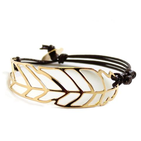 Pluma Leather Bracelet - kris nations