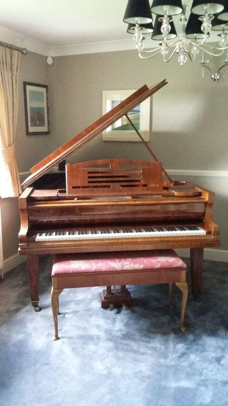 Niendorf Art Deco Rosewood Baby Grand Piano - 1930's   eBay