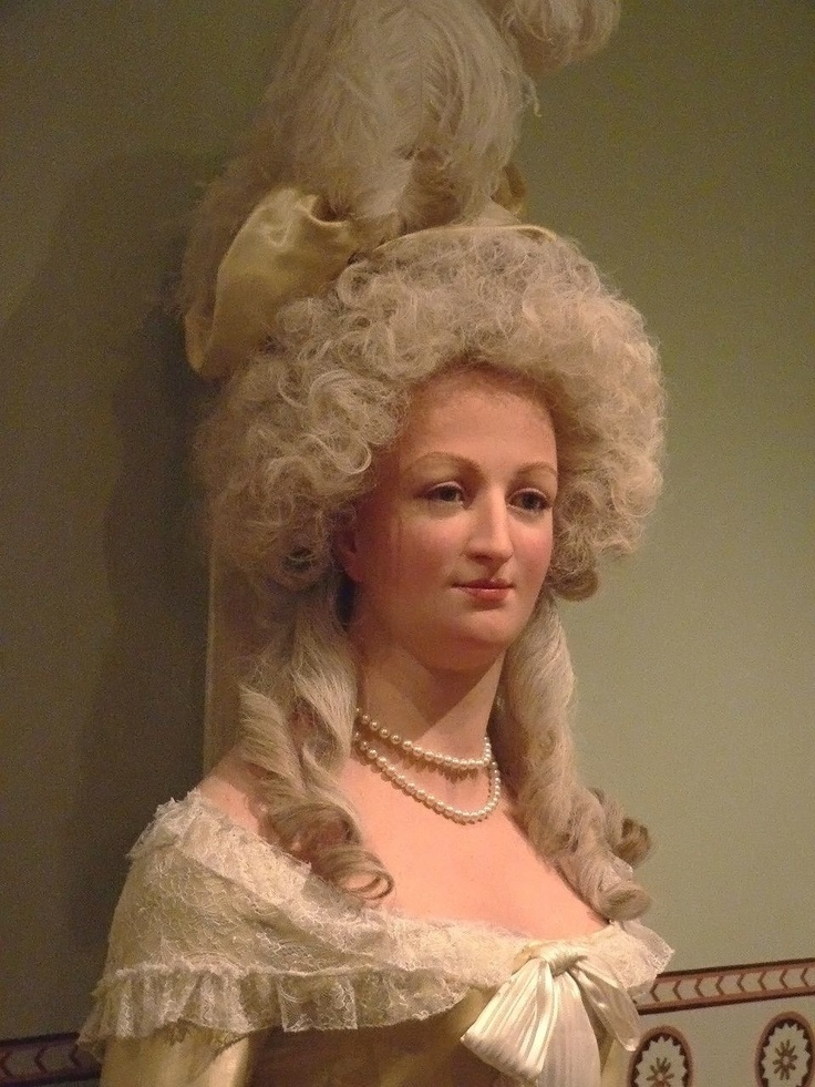 Marie in Madame Tussauds in London