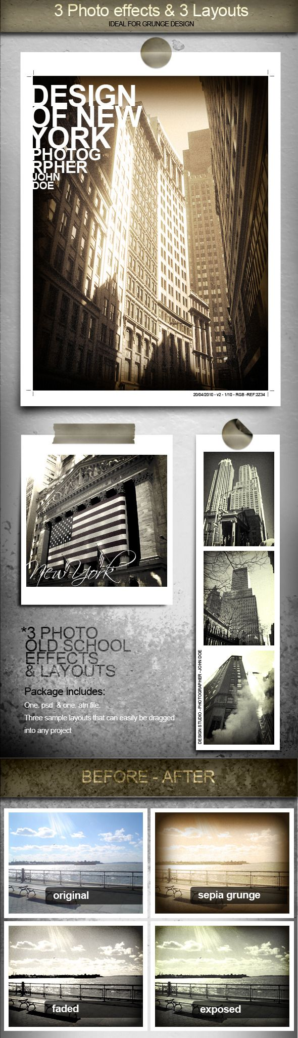 3 Cool Photo Effects and Layouts
