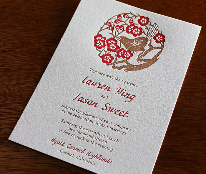32 best Chinese style stationery images on Pinterest Invitation - formal invitation style
