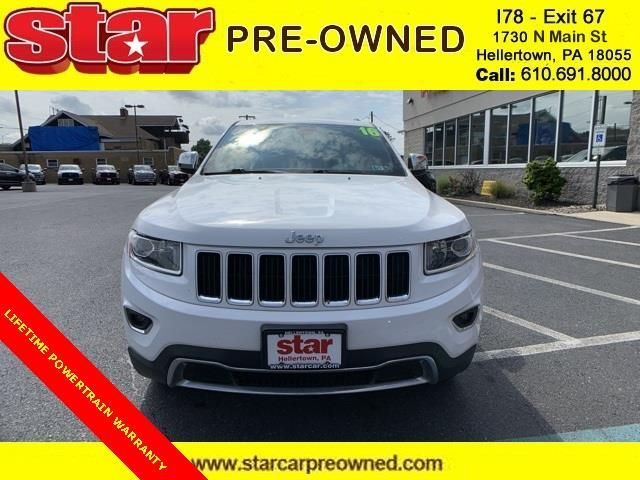 2016 Jeep Grand Cherokee Limited In 2020 Jeep Grand Cherokee
