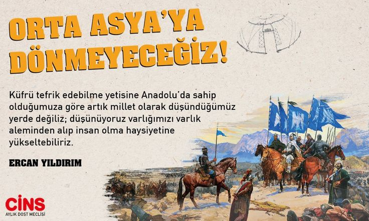 Orta Asya'ya Dönmeyeceğiz!  Ercan Yıldırım Mart sayısına yazdı! @Ercnyldrm1