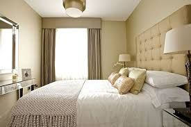 bedroom ideas cream curtains and headboard - Google Search